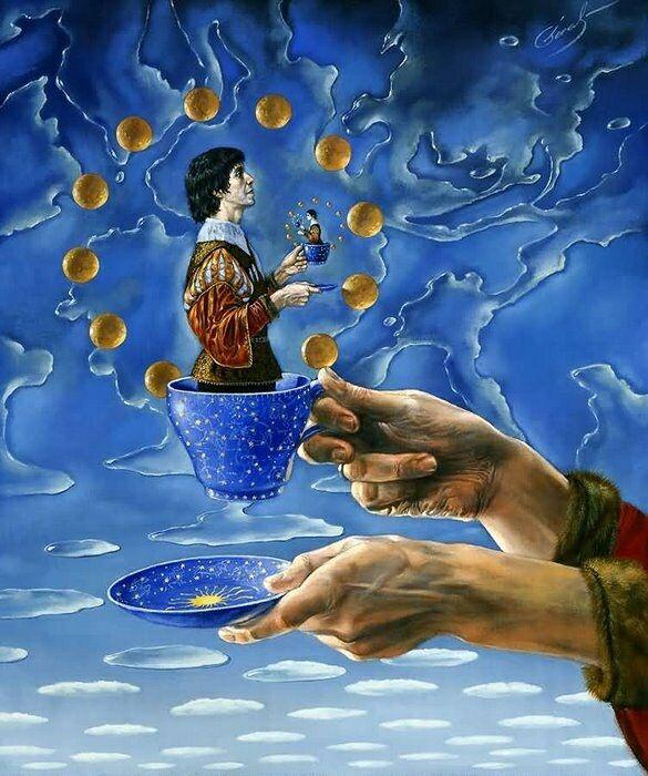 Идеи разума - это игра, возникающая как желание проявлять игру своего воображения. Станислав Милевич