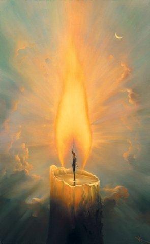 Когда вы дарите любовь окружающим, то любви в вас не становится меньше, как не убавляется пламя свечи, сколько бы свечей оно не зажгло. Станислав Милевич
