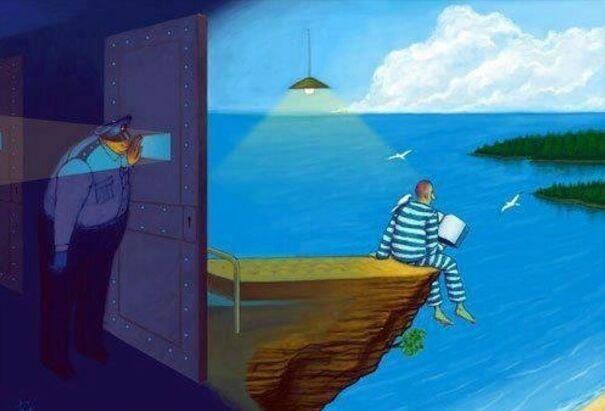 Свобода ума - это свобода от обусловленности, полное избавление от представлений, убеждений и ограничений, которые создал ум, от беспокойств, переживаний и страданий. Станислав Милевич